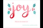 « Joy » écrit à la main Cartes Et Articles D'Artisanat Imprimables - gabarit prédéfini. <br/>Utilisez notre logiciel Avery Design & Print Online pour personnaliser facilement la conception.