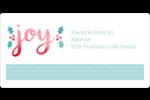 « Joy » écrit à la main Étiquettes de classement écologiques - gabarit prédéfini. <br/>Utilisez notre logiciel Avery Design & Print Online pour personnaliser facilement la conception.