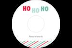 « Ho Ho Ho » Étiquettes Pour Médias - gabarit prédéfini. <br/>Utilisez notre logiciel Avery Design & Print Online pour personnaliser facilement la conception.