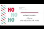 « Ho Ho Ho » Étiquettes de classement écologiques - gabarit prédéfini. <br/>Utilisez notre logiciel Avery Design & Print Online pour personnaliser facilement la conception.