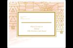 Hiver géométrique Étiquettes D'Adresse - gabarit prédéfini. <br/>Utilisez notre logiciel Avery Design & Print Online pour personnaliser facilement la conception.