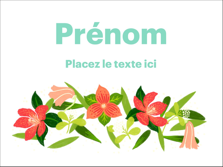 Pleine floraison  Badges - gabarit prédéfini. <br/>Utilisez notre logiciel Avery Design & Print Online pour personnaliser facilement la conception.