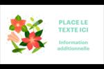 Pleine floraison  Carte d'affaire - gabarit prédéfini. <br/>Utilisez notre logiciel Avery Design & Print Online pour personnaliser facilement la conception.