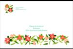 Pleine floraison  Étiquettes d'expédition - gabarit prédéfini. <br/>Utilisez notre logiciel Avery Design & Print Online pour personnaliser facilement la conception.
