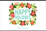 Pleine floraison  Cartes de souhaits pliées en deux - gabarit prédéfini. <br/>Utilisez notre logiciel Avery Design & Print Online pour personnaliser facilement la conception.