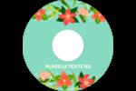 Pleine floraison  Étiquettes Pour Médias - gabarit prédéfini. <br/>Utilisez notre logiciel Avery Design & Print Online pour personnaliser facilement la conception.