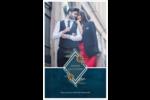 Couronne élégante Cartes Et Articles D'Artisanat Imprimables - gabarit prédéfini. <br/>Utilisez notre logiciel Avery Design & Print Online pour personnaliser facilement la conception.