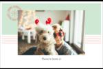 Sceau en blocs de couleur Cartes de souhaits pliées en deux - gabarit prédéfini. <br/>Utilisez notre logiciel Avery Design & Print Online pour personnaliser facilement la conception.