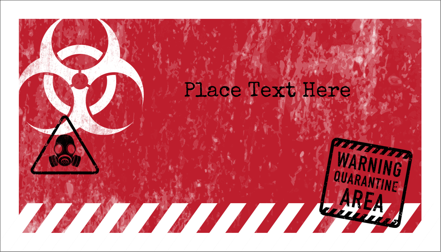 image regarding Quarantine Sign Printable referred to as Halloween Zombie Apocalypse predesigned Label and Card