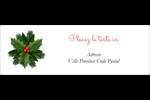Bordure florale de Noël Intercalaires / Onglets - gabarit prédéfini. <br/>Utilisez notre logiciel Avery Design & Print Online pour personnaliser facilement la conception.