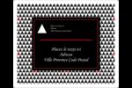Noir et blanc Étiquettes D'Adresse - gabarit prédéfini. <br/>Utilisez notre logiciel Avery Design & Print Online pour personnaliser facilement la conception.
