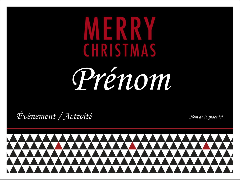 Noir et blanc Badges - gabarit prédéfini. <br/>Utilisez notre logiciel Avery Design & Print Online pour personnaliser facilement la conception.
