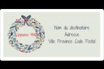 Couronne Étiquettes de classement écologiques - gabarit prédéfini. <br/>Utilisez notre logiciel Avery Design & Print Online pour personnaliser facilement la conception.