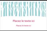Les gabarits Forêt hivernale pour votre prochain projet des Fêtes Cartes de souhaits pliées en deux - gabarit prédéfini. <br/>Utilisez notre logiciel Avery Design & Print Online pour personnaliser facilement la conception.