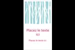 Les gabarits Forêt hivernale pour votre prochain projet des Fêtes Carte d'affaire - gabarit prédéfini. <br/>Utilisez notre logiciel Avery Design & Print Online pour personnaliser facilement la conception.