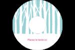 Les gabarits Forêt hivernale pour votre prochain projet des Fêtes Étiquettes Pour Médias - gabarit prédéfini. <br/>Utilisez notre logiciel Avery Design & Print Online pour personnaliser facilement la conception.