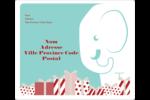 Les gabarits Éléphant blanc pour votre prochain projet des Fêtes Étiquettes D'Adresse - gabarit prédéfini. <br/>Utilisez notre logiciel Avery Design & Print Online pour personnaliser facilement la conception.