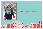 Les gabarits Éléphant blanc pour votre prochain projet des Fêtes Cartes de souhaits pliées en deux - gabarit prédéfini. <br/>Utilisez notre logiciel Avery Design & Print Online pour personnaliser facilement la conception.