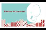Les gabarits Éléphant blanc pour votre prochain projet des Fêtes Carte d'affaire - gabarit prédéfini. <br/>Utilisez notre logiciel Avery Design & Print Online pour personnaliser facilement la conception.