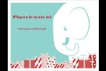 Les gabarits Éléphant blanc pour votre prochain projet des Fêtes Cartes Et Articles D'Artisanat Imprimables - gabarit prédéfini. <br/>Utilisez notre logiciel Avery Design & Print Online pour personnaliser facilement la conception.