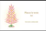 Plant d'ananas tropical Cartes de souhaits pliées en deux - gabarit prédéfini. <br/>Utilisez notre logiciel Avery Design & Print Online pour personnaliser facilement la conception.
