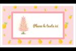 Plant d'ananas tropical Carte d'affaire - gabarit prédéfini. <br/>Utilisez notre logiciel Avery Design & Print Online pour personnaliser facilement la conception.
