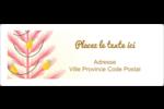 Plant d'ananas tropical Étiquettes d'adresse - gabarit prédéfini. <br/>Utilisez notre logiciel Avery Design & Print Online pour personnaliser facilement la conception.