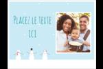Petits bonshommes de neige Cartes Et Articles D'Artisanat Imprimables - gabarit prédéfini. <br/>Utilisez notre logiciel Avery Design & Print Online pour personnaliser facilement la conception.