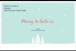 Les gabarits Neige tombant sur les arbres pour votre prochain projet des Fêtes Étiquettes d'expédition - gabarit prédéfini. <br/>Utilisez notre logiciel Avery Design & Print Online pour personnaliser facilement la conception.