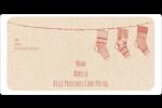 Bas de Noël suspendus Étiquettes de classement écologiques - gabarit prédéfini. <br/>Utilisez notre logiciel Avery Design & Print Online pour personnaliser facilement la conception.
