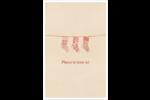 Bas de Noël suspendus Cartes Et Articles D'Artisanat Imprimables - gabarit prédéfini. <br/>Utilisez notre logiciel Avery Design & Print Online pour personnaliser facilement la conception.