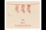 Bas de Noël suspendus Étiquettes D'Adresse - gabarit prédéfini. <br/>Utilisez notre logiciel Avery Design & Print Online pour personnaliser facilement la conception.