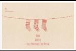 Bas de Noël suspendus Étiquettes d'expédition - gabarit prédéfini. <br/>Utilisez notre logiciel Avery Design & Print Online pour personnaliser facilement la conception.