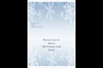 Les gabarits Flocon de neige élégant pour votre prochain projet des Fêtes Étiquettes D'Adresse - gabarit prédéfini. <br/>Utilisez notre logiciel Avery Design & Print Online pour personnaliser facilement la conception.