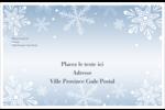 Les gabarits Flocon de neige élégant pour votre prochain projet des Fêtes Étiquettes d'expédition - gabarit prédéfini. <br/>Utilisez notre logiciel Avery Design & Print Online pour personnaliser facilement la conception.
