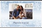 Les gabarits Flocon de neige élégant pour votre prochain projet des Fêtes Cartes de souhaits pliées en deux - gabarit prédéfini. <br/>Utilisez notre logiciel Avery Design & Print Online pour personnaliser facilement la conception.