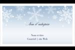 Les gabarits Flocon de neige élégant pour votre prochain projet des Fêtes Carte d'affaire - gabarit prédéfini. <br/>Utilisez notre logiciel Avery Design & Print Online pour personnaliser facilement la conception.