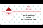 Père Noël Étiquettes de classement écologiques - gabarit prédéfini. <br/>Utilisez notre logiciel Avery Design & Print Online pour personnaliser facilement la conception.