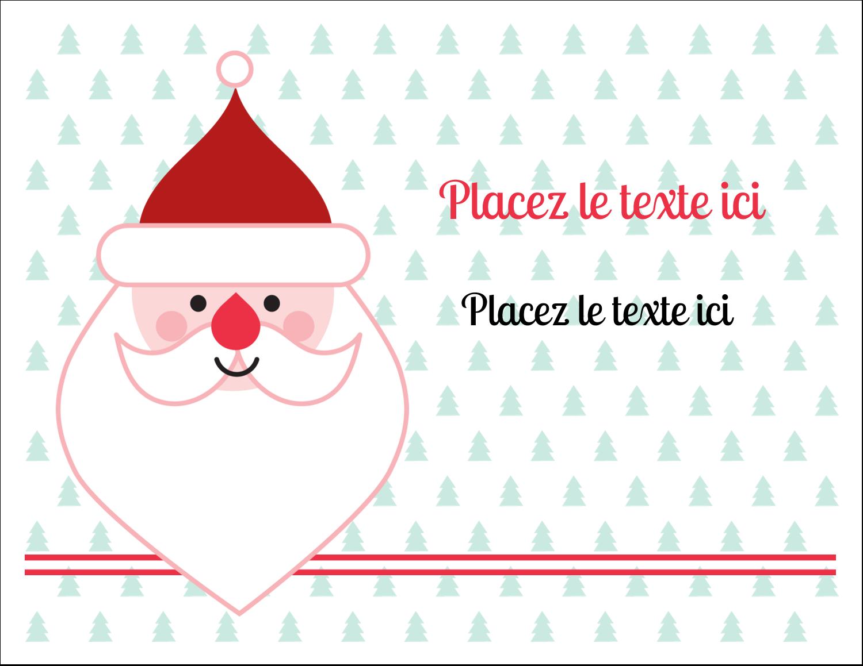 """8½"""" x 11"""" Cartes Et Articles D'Artisanat Imprimables - Père Noël"""