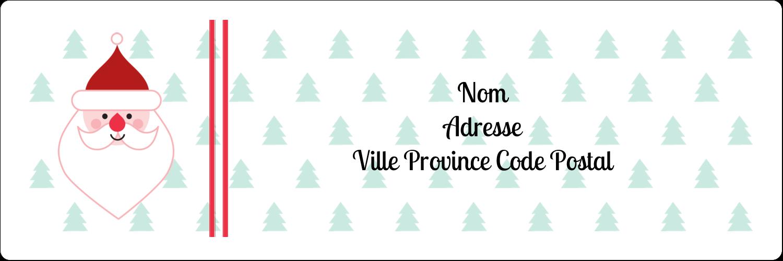 "8½"" x 11"" Intercalaires / Onglets - Père Noël"