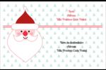 Père Noël Étiquettes d'expédition - gabarit prédéfini. <br/>Utilisez notre logiciel Avery Design & Print Online pour personnaliser facilement la conception.