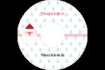 Père Noël Étiquettes Pour Médias - gabarit prédéfini. <br/>Utilisez notre logiciel Avery Design & Print Online pour personnaliser facilement la conception.