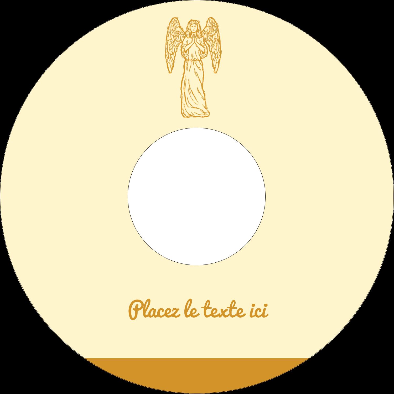 CD/DVD Étiquettes Pour Médias - Gravure pieuse