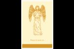 Gravure pieuse Cartes Et Articles D'Artisanat Imprimables - gabarit prédéfini. <br/>Utilisez notre logiciel Avery Design & Print Online pour personnaliser facilement la conception.