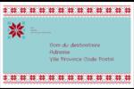 Chandail de poinsettias Étiquettes d'expédition - gabarit prédéfini. <br/>Utilisez notre logiciel Avery Design & Print Online pour personnaliser facilement la conception.