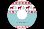 Chandail de poinsettias Étiquettes Pour Médias - gabarit prédéfini. <br/>Utilisez notre logiciel Avery Design & Print Online pour personnaliser facilement la conception.