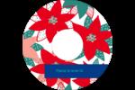 Les gabarits Poinsettia pour votre prochain projet des Fêtes Étiquettes Pour Médias - gabarit prédéfini. <br/>Utilisez notre logiciel Avery Design & Print Online pour personnaliser facilement la conception.
