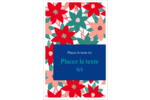 Les gabarits Poinsettia pour votre prochain projet des Fêtes Cartes Et Articles D'Artisanat Imprimables - gabarit prédéfini. <br/>Utilisez notre logiciel Avery Design & Print Online pour personnaliser facilement la conception.