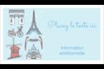 Les gabarits Fêtes à Paris pour votre prochain événement Carte d'affaire - gabarit prédéfini. <br/>Utilisez notre logiciel Avery Design & Print Online pour personnaliser facilement la conception.