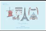 Les gabarits Fêtes à Paris pour votre prochain événement Étiquettes d'expédition - gabarit prédéfini. <br/>Utilisez notre logiciel Avery Design & Print Online pour personnaliser facilement la conception.